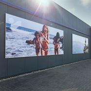 Systèmes de montage muraux pour bâches publicitaires