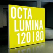 "Mur lumineux LED ""Octalumina 120"" autoportant"