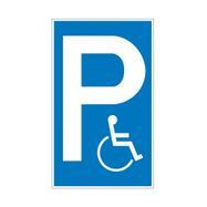 Panneaux interdiction d'arrêt et de stationnement plastique