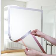 Pochette adhésive avec fermeture magnétique Duraframe®