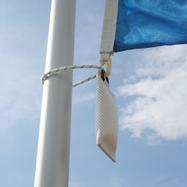 Contrepoids pour drapeau