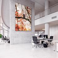 """Cadre extensible en aluminium """"27"""" pour montage mural"""
