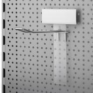 Support de scanner pour crochets muraux perforés