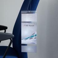 Pochette porte-étiquette avec 3 zones d'insertion