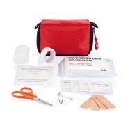 Trousse de premiers secours rouge