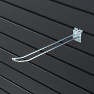Crochet double pour mur à lamelles 100 - 400 mm