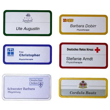 "Badge d'identification ""Frame"""
