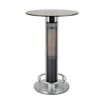 Table de bar chauffante pour extérieur