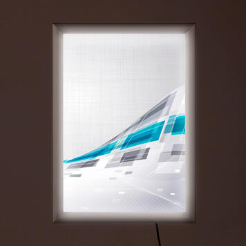 """Cadre lumineux à LED """"Simple"""", double face"""