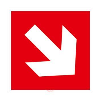 Flèche directionnelle vers le bas à droite