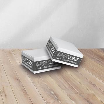 """Micro-film adhésif permanent pour cube """"EasyCubes"""""""