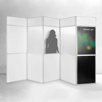"""Cloison modulable """"360"""" avec panneaux imprimables"""