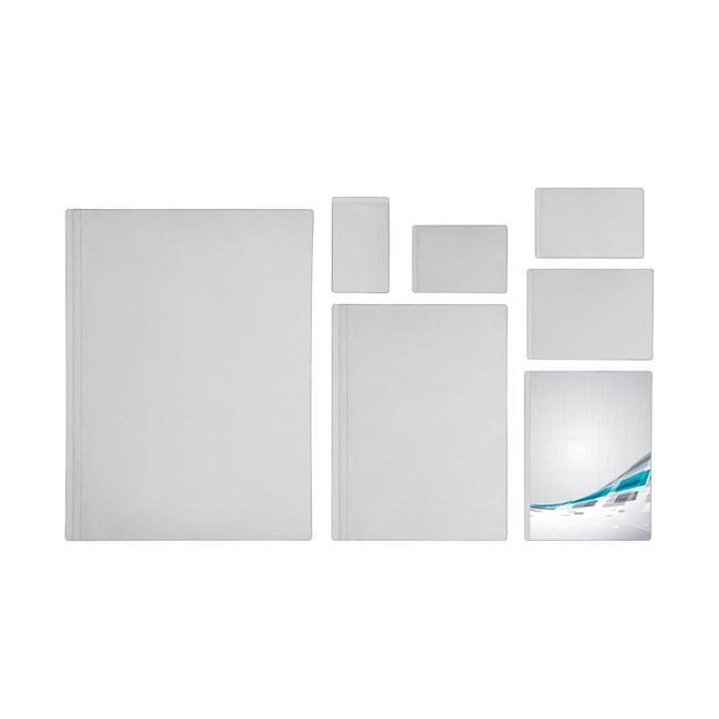 Pochettes auto-adhésives, transparent