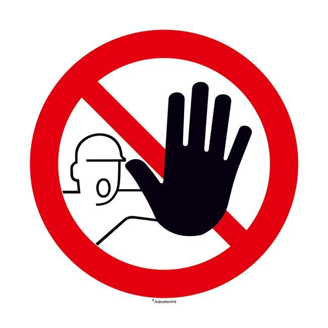 Accès interdit aux personnes non autorisées