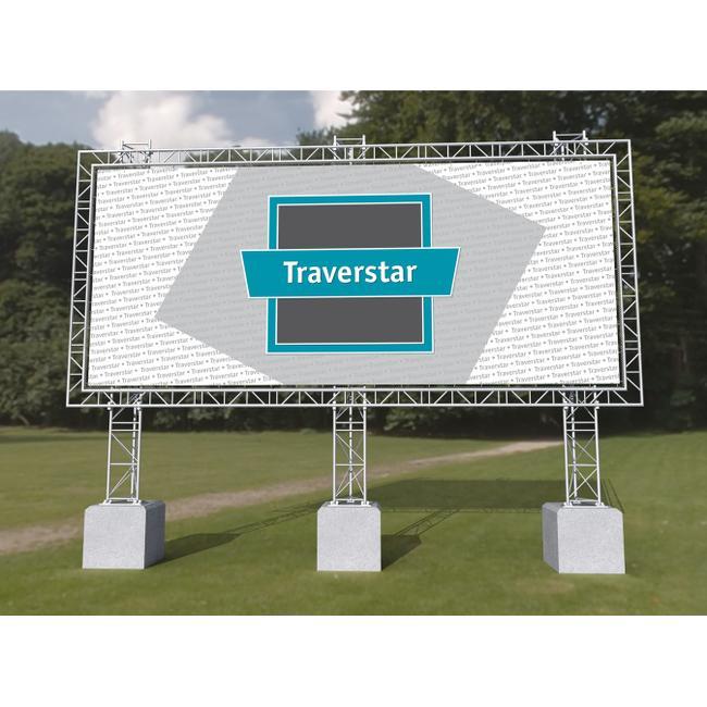 "Système d'affichage outdoor Traverstar ""Fundament"""