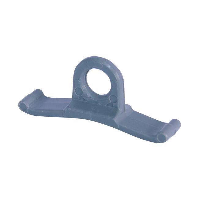 Crochet d'insert pour profilé aluminium