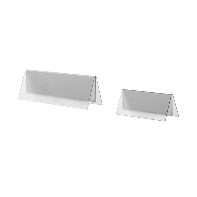 Porte-menu PVC