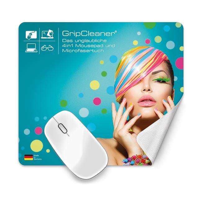 """Tapis de souris """"Grip Cleaner®"""" 4-en-1"""
