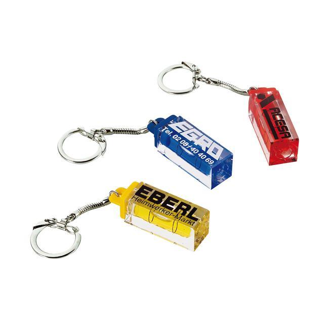 Mini-niveau à bulle porte-clés