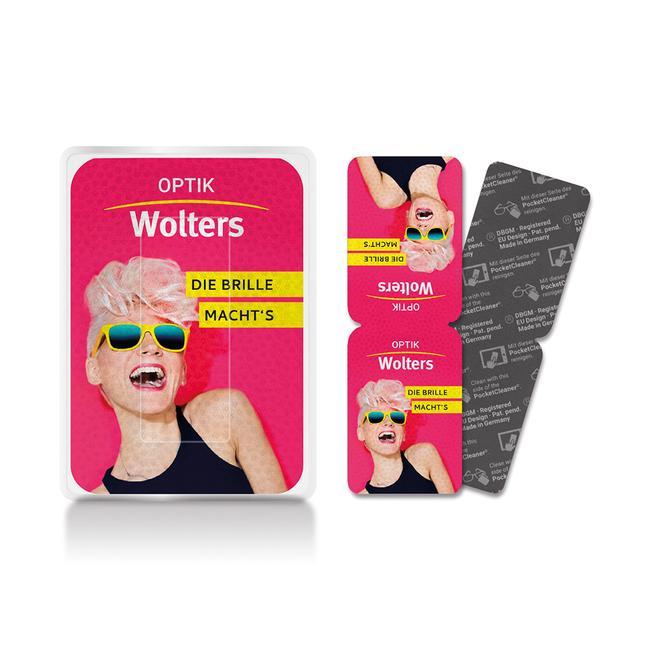 Chiffon de nettoyage PocketCleaner® pour écran et lunette