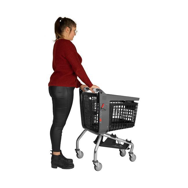Poignées pour chariots de supermarché