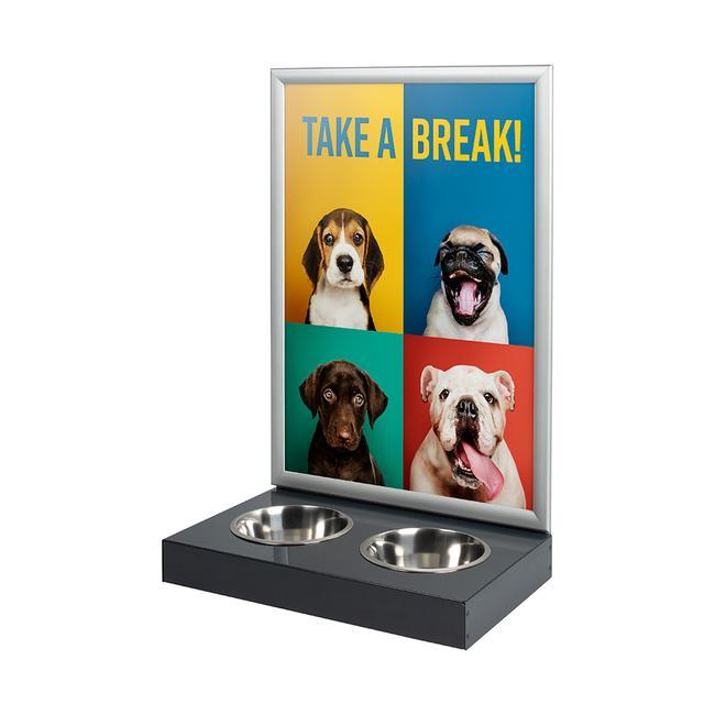 Gamelles de ravitaillement pour chien