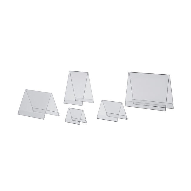 Porte-affiche acrylique en formats standard