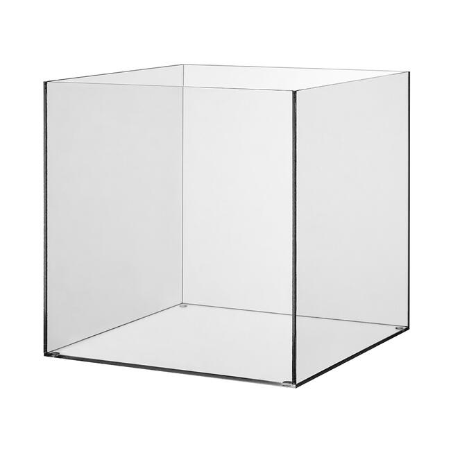 Bac en verre acrylique