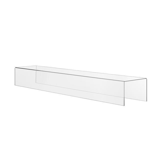 Pont déco, plate-forme rectangulaire en verre acrylique