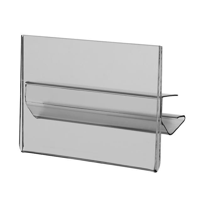 Porte-étiquette de prix pour étagères 105 x 74 mm