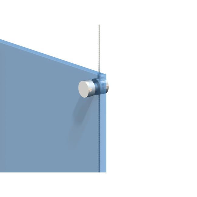 Support de câble métallique pour plaques pré-perforées