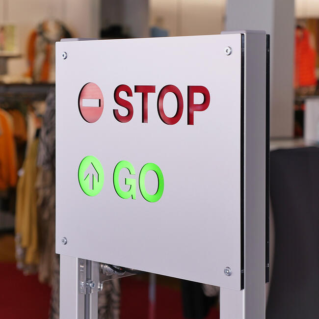 """Système de contrôle d'accès clients """"Counter"""""""