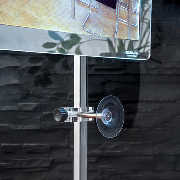 """Système de fixation LED à aimant """"TS"""" pour vitre"""