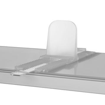 Tirette pour système de séparation de compartiments Perfekta