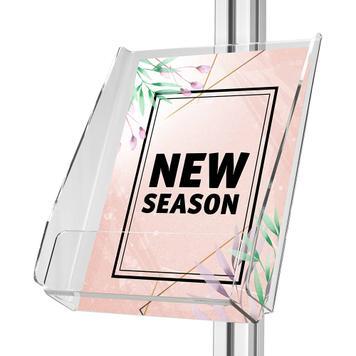 """Porte-brochures pour gammes """"Quattro"""" et """"Score"""""""