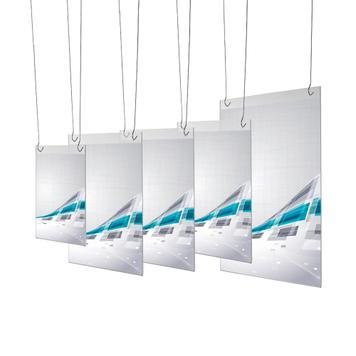 Protège-documents en verre acrylique