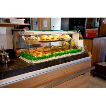 Présentoir podium pour petits pains