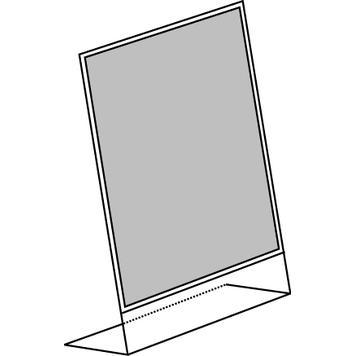 """Porte-visuel incliné """"Universum"""" A4, portrait"""