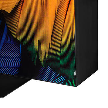 "Cadre textile LED ""Lumos"" - 200 mm, recto-verso"