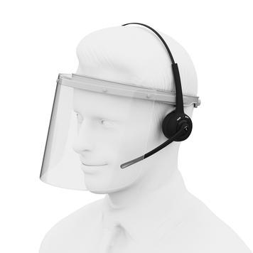 """Interphone de guichet """"VoiceBridge"""" - inclus le casque Bluetooth"""