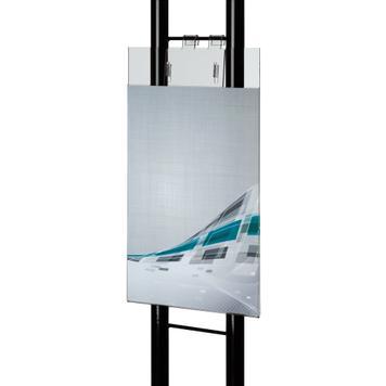 Pochette en verre acrylique avec fentes