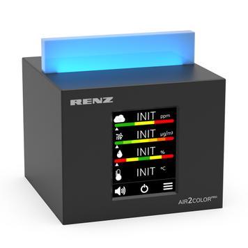 "Appareil de mesure de la qualité de l'air ""Air2Color PRO"" avec feu de circulation du CO2"