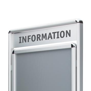 """Porte-affiche """"Info"""""""