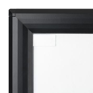 "Stop-trottoir étanche WIndSign ""Seal"", profilé 44 mm, noir"