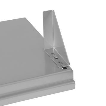 Console FlexiSlot® avec 2 appuis