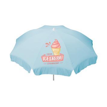 Parasol avec impression personnalisée