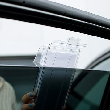 """Porte-brochures """"Weserr"""" pour vitres auto"""