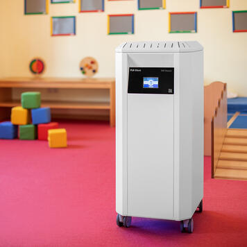 """Purificateur d'air professionnel """"PLR-Silent"""" avec filtre HEPA H14 et lumière UV-C"""